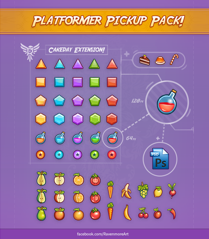 2D Pickups Pack