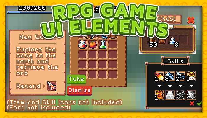 7Soul's RPG Graphics – UI Pack