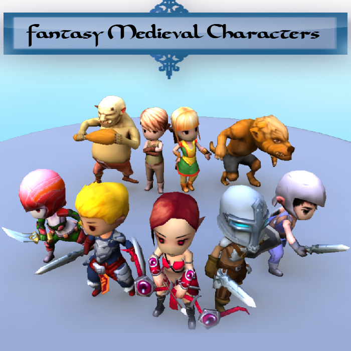 Fantasy Characters Package