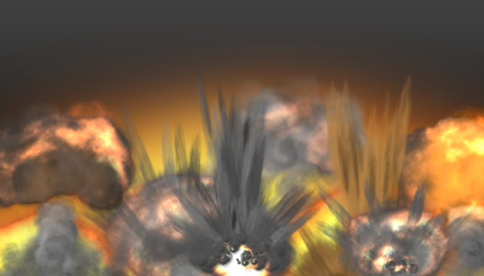 Animated Explosions Pack 3