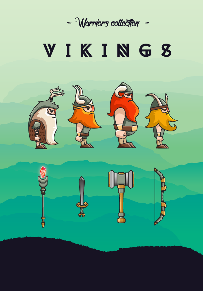 Warriors collection – Vikings