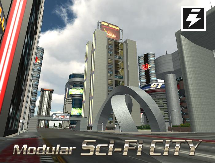 Modular Sci-Fi City