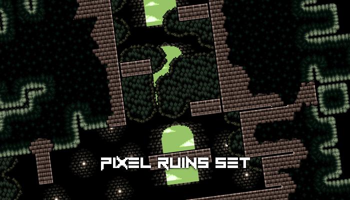 Pixel Ruins Set