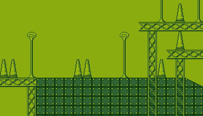 Gameboy styled Platformer tilesets