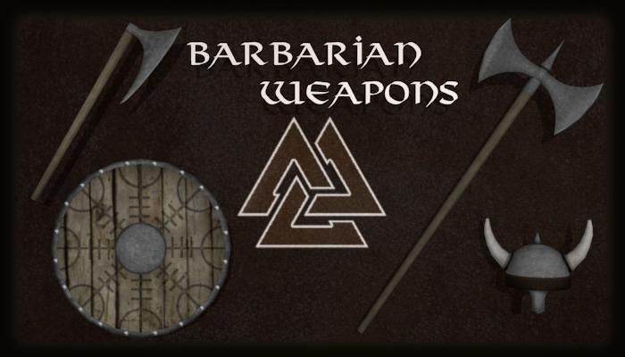 Barbarian pack