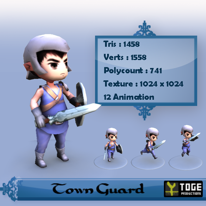 Male Town Guard