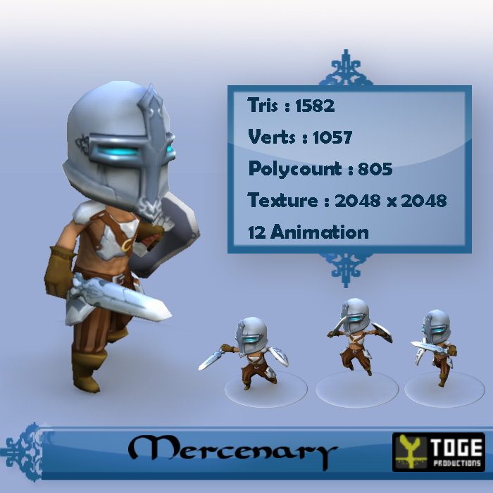 Male Mercenary