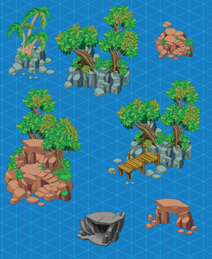 Isometric Islands