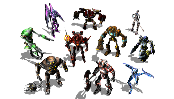 Sci-Fi Robot Pack 1