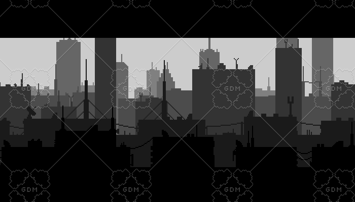 Grey City Background