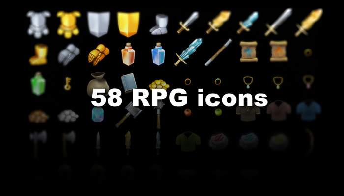 58 Fantasy RPG Items