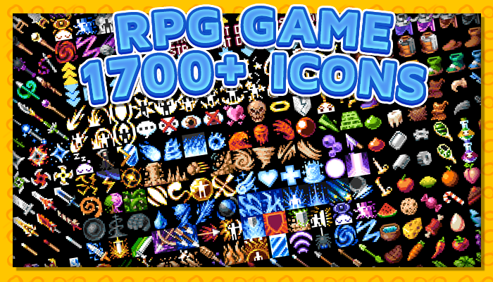 7Soul's RPG Graphics – Icon Pack