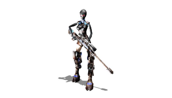 Sci-fi Robot 9
