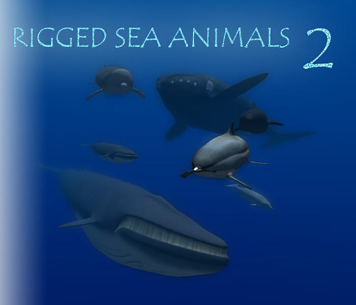 Rigged Sea Animals II