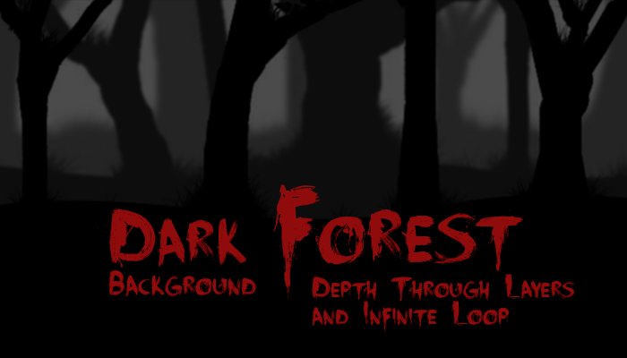 Dark Forest Background