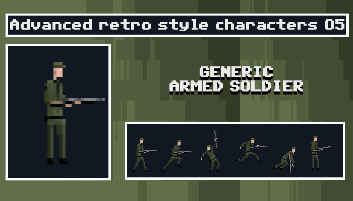 Generic Armed Soldier