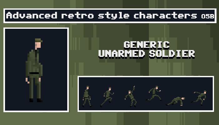 Generic Unarmed Soldier