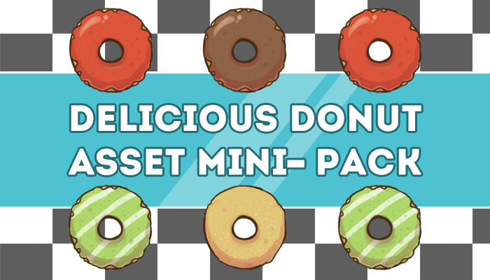 Delicious Donut Asset Mini-Pack