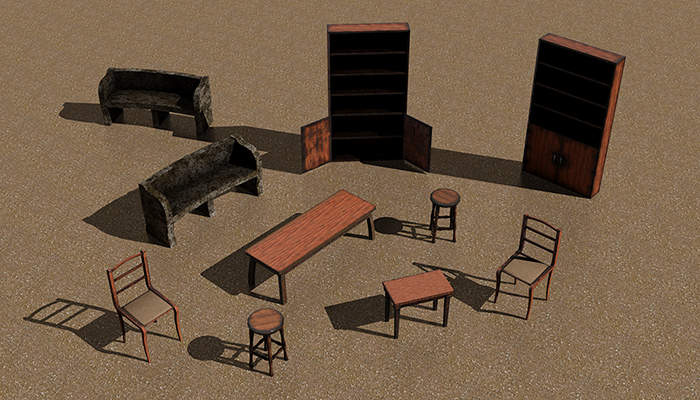 Furniture Pack 01