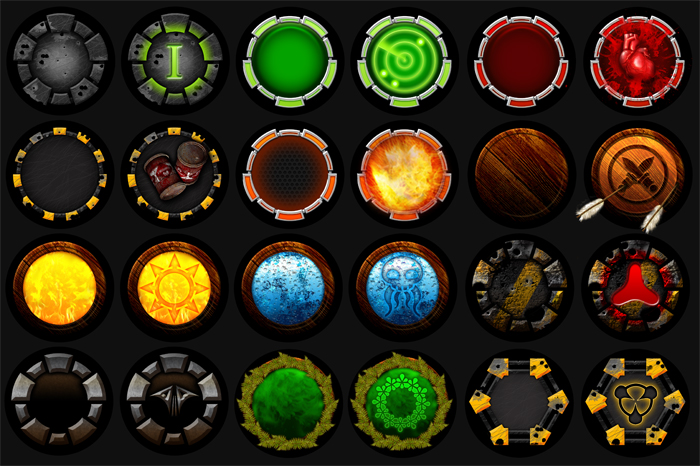 Token and Button Development Pack