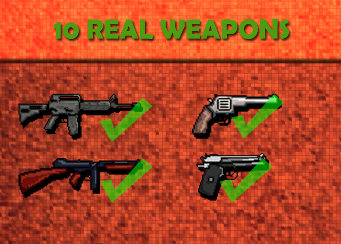 10 Real Pixel Weapon