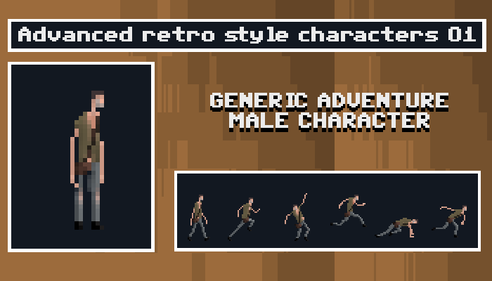 Generic Adventure Male Character