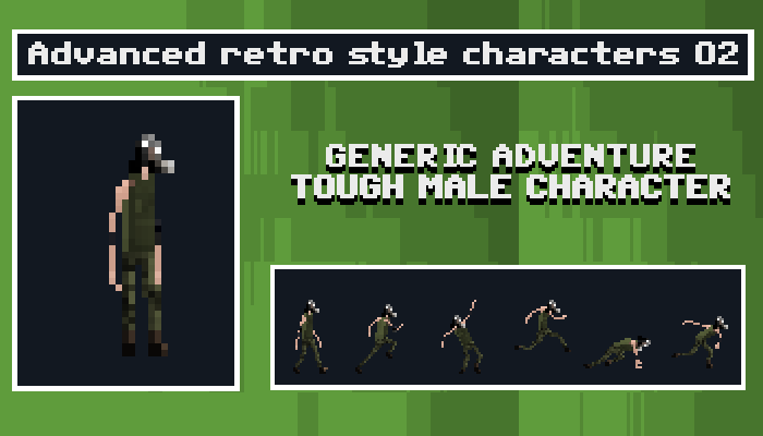 Generic Adventure Tough Male Character