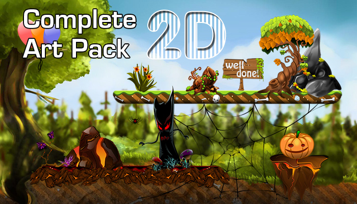 2D Complete Art Pack