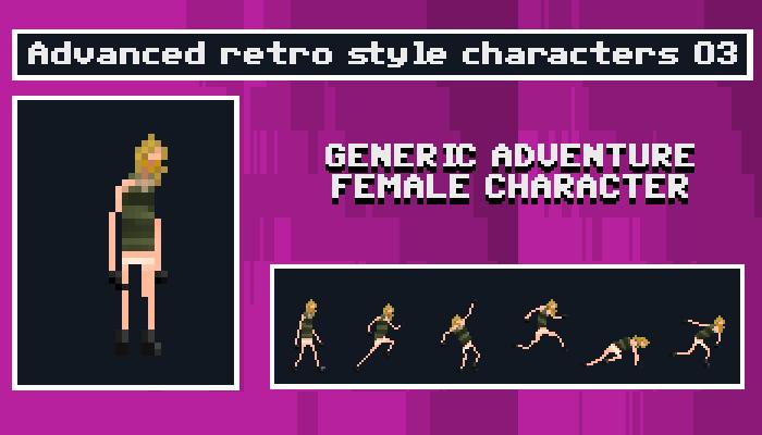 Generic Adventure Female Character