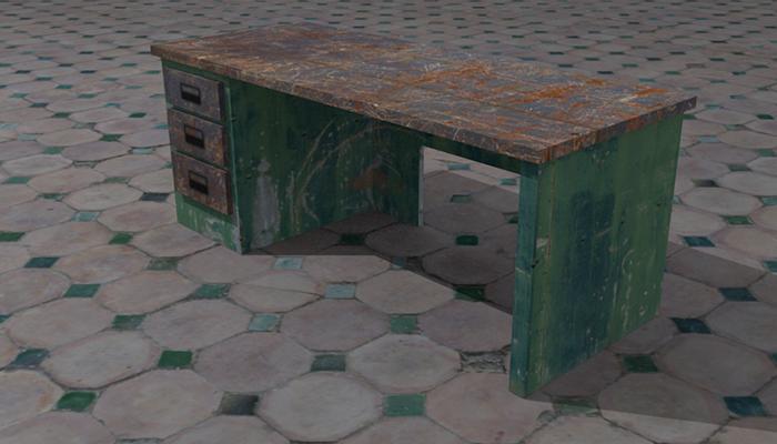 Rusty Desk