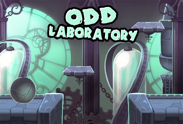 Odd Laboratory Backdrop