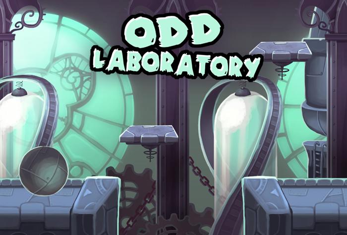 Odd Laboratory Backdrop