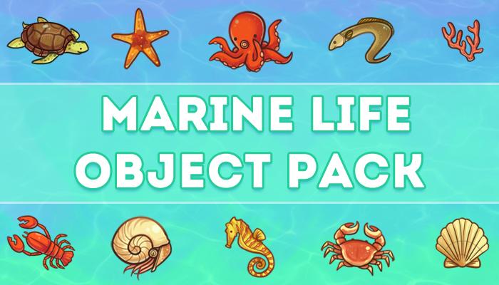 Marine Life Asset Pack