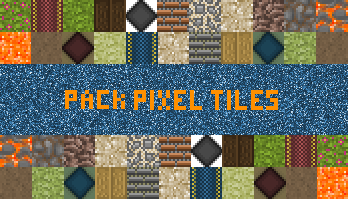 Pack Pixel Art Tiles