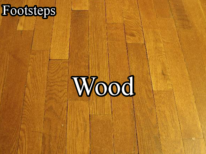 Footsteps – Wood