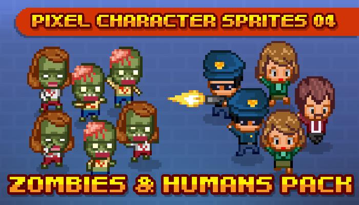 Toge Pixel Sprites – Zombie Apocalypse Pack