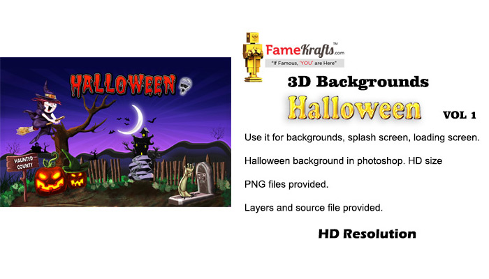 Halloween Background Vol 1