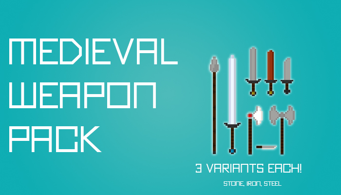 Medieval Weapon Pack 1