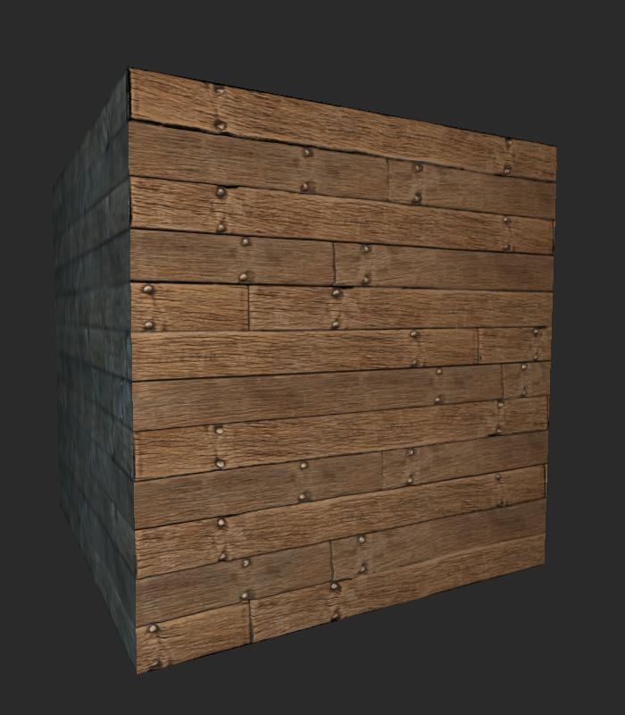 2K Wood Plank