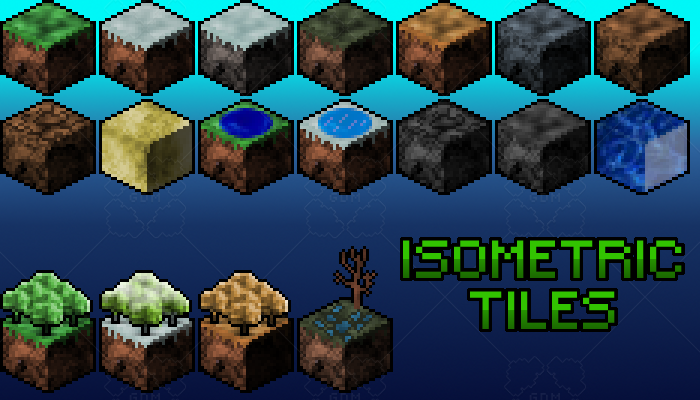 Isometric Land Tiles