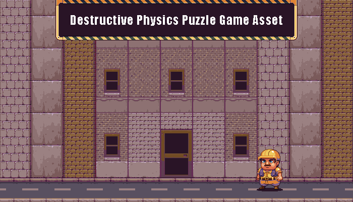Destructive Physics Puzzle Game Asset