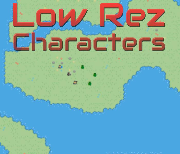 LowRez Characters