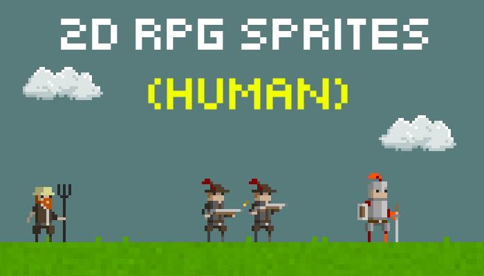 8 Bit RPG Human Sprites