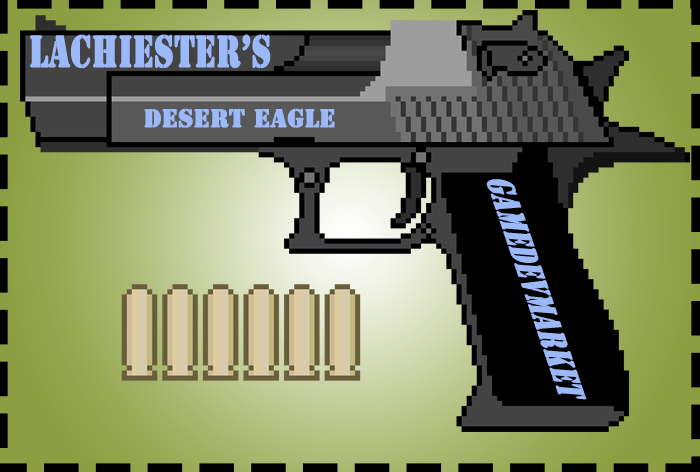Cartoon Desert Eagle MK VII