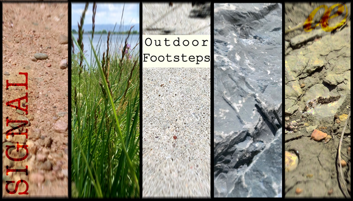 Outdoor Footsteps Library
