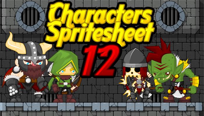 Characters Spritesheet 12