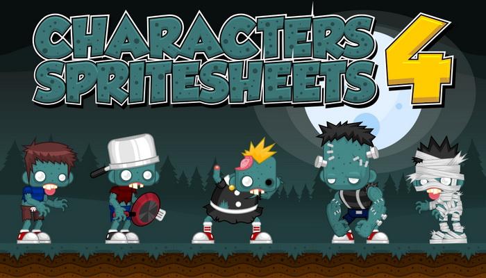 Characters Spritesheet 4