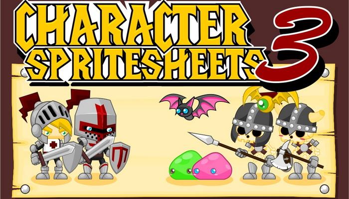 Characters Spritesheet 3