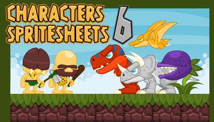 Characters Spritesheet 6