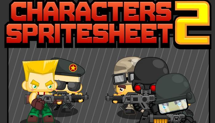 Characters Spritesheet 2